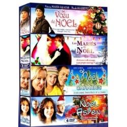 Christmas Coffret 4 Films Le Voeu De Noël + Les Mariés De Noël + Noël Aux Caraïbes + Noël À Aspen