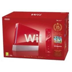Nintendo Wii Rouge Edition limitée 25ème Anniversaire Mario