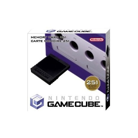 Carte memoire Game Cube officielle 251 blocs