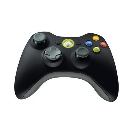 Manette Xbox 360 Officielle sans fil noire