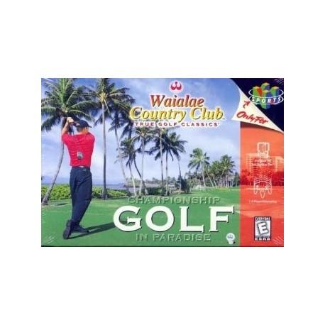Waialae Country Club Golf
