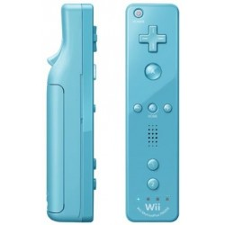 Manette Wiimote Plus Blue Officiel Wii