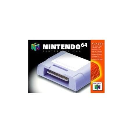 Carte mémoire Officielle Nintendo 64
