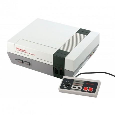 Nintendo Nes + 2 manttes (sans boite)