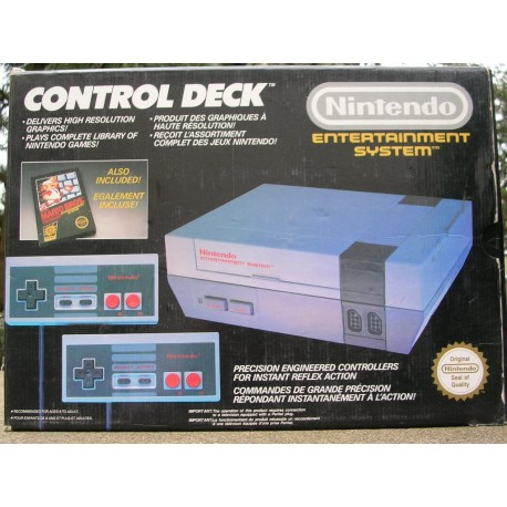 Nintendo Nes Control Deck Mario Inclus