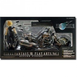Final Fantasy 7 Play Arts Cloud & Hardy Daytona