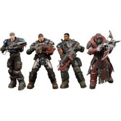 Gears of War Pack 4 Figurines