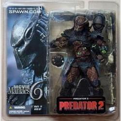 McFarlane's Movie Maniacs 6 Predator from Predator 2