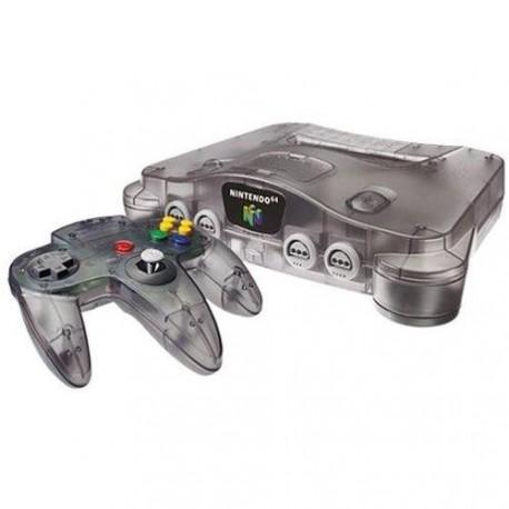 Nintendo 64 Funtastic Clear Black
