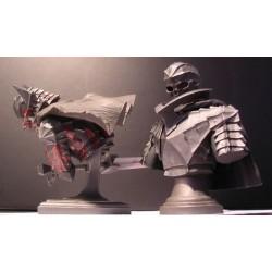 Bust Up Armor Skull
