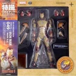 Iron Man Mark XLII SCI-FI Revoltech Series No 049
