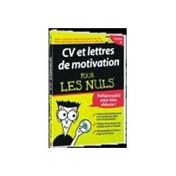 CV et Lettres de Motivation pour les Nuls