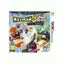 Rayman et les lapins crétins Pack Famille