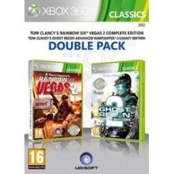 Tom Clancy's Rainbow Six Vegas 2 + Tom Clancy's Ghost Recon Advanced Warfighter 2