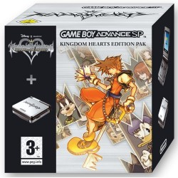 Game Boy Advance SP Kingdom Hearts Chain of Memories