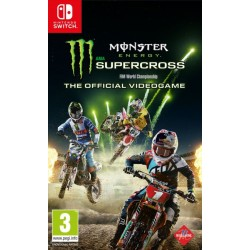 Monster Supercross Energy The Official Videogame