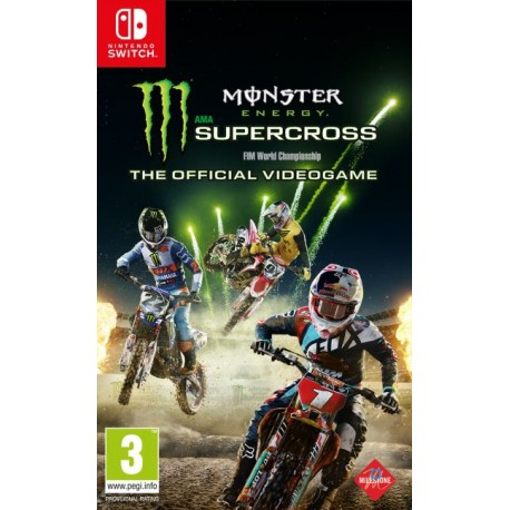 Monster Supercross Energy : The Official Videogame