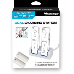 Dual station de charge pour Nintendo Wii U / Nintendo Wii