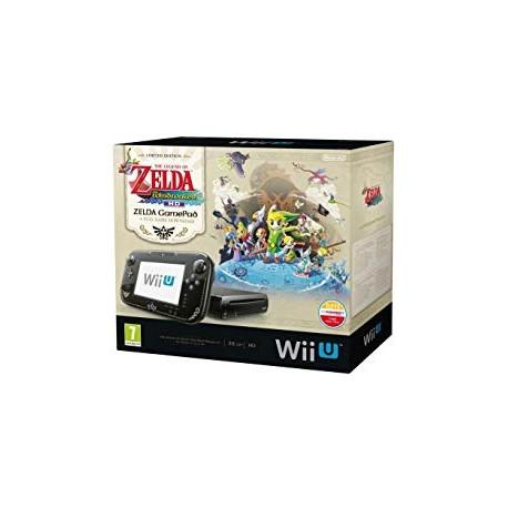 Wii U 32 Go noire The Legend of Zelda Wind Waker HD Edition Limitée