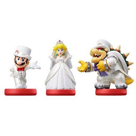 Amiibo Collection Super Mario Tenues de mariage