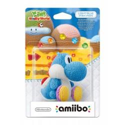 Amiibo Yoshi's Woolly World Yoshi de laine bleu ciel