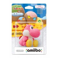 Amiibo Yoshi's Wolly World Yoshi de laine Rose