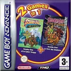 2 Games in 1 Scooby-Doo Et La Cyber Traque Et Scooby-Doo! Le Livre Des Tenebres