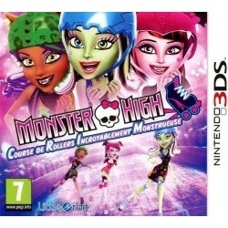 Monster High Course De Rollers Incroyablement Monstrueuse