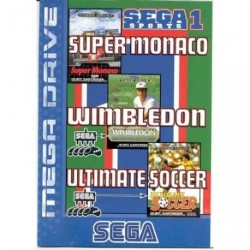 Sega Sports 1 Super Monaco - Wimbledon - Ultimate Soccer