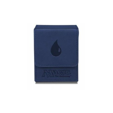 Deck box Ultra Pro cuir magic Mana Bleue