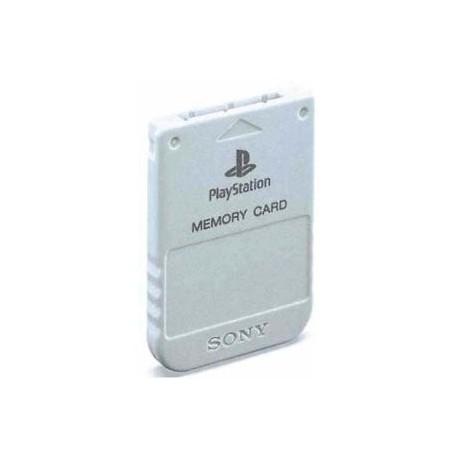 Carte Memoire Officielle Playstation 1