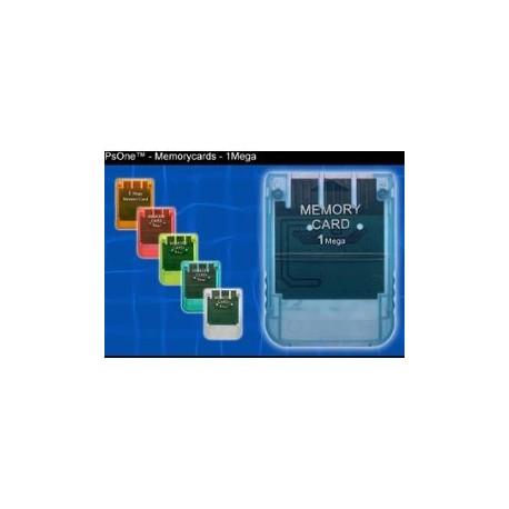 Carte Memoire non officielle Playstation 1