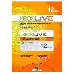 Abonnement Xbox Live 12 Mois